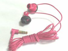 Orginal Sony MDR-PQ5 Earphone Stereo Bass PQ5 Headphone (Pink) for ipod mp3