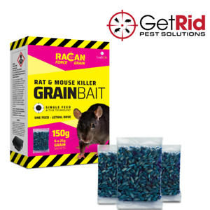 Strong Rodent Rat Poison Grain Bait Killer Mouse Mice Pest Control Max Strength