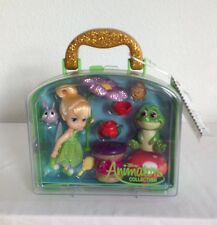 "DISNEY ANIMATORS' COLLECTION TINKER BELL 5"" MINI DOLL PLAYSET NEW IN CARRY CASE"