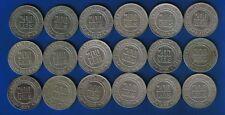 LB) Brazil Brasil Complete set (18 coins) 200 Reis 1918 / 1935 KM#519 NICE COINS