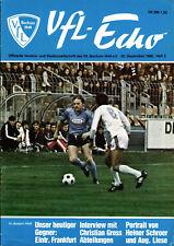 BL 80/81 VfL Bochum - Eintracht Frankfurt, 20.09.1980 Interview Christian Gross
