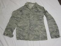 Genuine US AIR FORCE USAF DSCP Mens Utility Coat Jacket Camo 38 XLong NICE!!