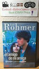 """""""El Amigo de mi amiga"""" DVD Éric Rohmer (1987) RARE Comedias y Proverbios"""