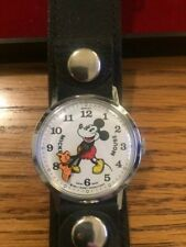 1970's Bradley Time Mickey Mouse Watch New