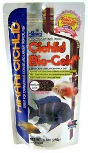 Hikari Cichlid Bio-Gold Plus MEDIUM - 250g Food Tropical Aquarium Feed