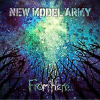NEW MODEL ARMY - FROM HERE (2LP)  2 VINYL LP + MP3 NEU