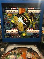 1971 Gottlieb Orbit 4 player pinball machine in full working condition.