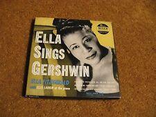 """Ella Fitzgerald/ Ella Sings Gershwin/ Decca/ 1950/ Box Set of 4 7"""" 45s/ VG++"""