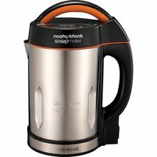 Morphy Richards Soup Maker Brushed Stainless Steel & Black.