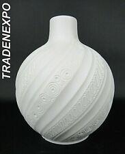 Vintage 1960-70's AK Kaiser Porcelain Ball Vase West German Pottery Fat Lava Era