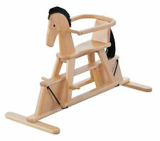Geuther Stern Swinging Horse (Natural) Natural
