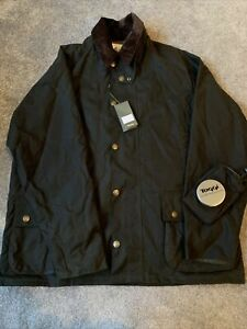 Authentic Rare Rolex Toggi Ryder Cup 2010 jacket Size Large Men's Green Wax Coat