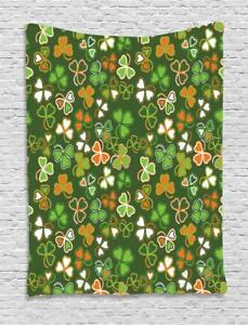 St. Patrick's Day Tapestry Wall Hanging Decoration for Room 2 Sizes Available