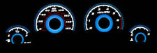 Free Ship 2006-2010 Dodge Charger / Magnum Blue Glow Gauges 160Mph Face Overlay