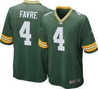Brand New 2021 NFL Nike Green Bay Packers Brett Farve #4 Game Edition Jersey NWT