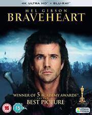 Braveheart 4K UHD + BD [2018] (4K Ultra HD + Blu-ray) Mel Gibson,Sophie Marceau