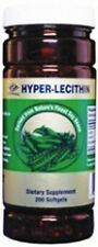 Nu-Health Hyper-Lecithin (200 Softgels) /w Grape Seed Extract, and Ginkgo Biloba