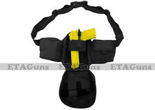 CONDOR BLACK Tactical Waist Pistol Concealed Carry Fanny Pack Bag Gun Holster