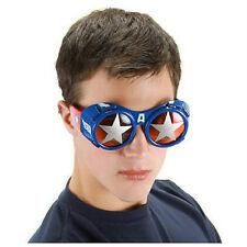 Marvel Avengers Movie Captain America Goggles Glasses Licensed Costume Comic