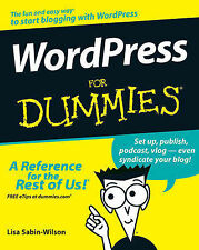 WordPress For Dummies (For Dummies (Computer/Tech))-ExLibrary