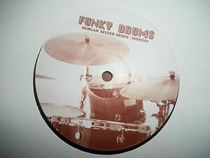 """MIGHTY DUB KATZ - LET THE DRUMS SPEAK - 12"""" RECORD / VINYL - MDK001 - 2006"""