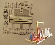 P&D Marsh N Gauge N Scale M48 Industrial liquid transfer pumping station kit