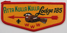 OA Lodge 185 Atta Kulla Kulla S6c YEL bkgd same as S6a; PB    [R249]