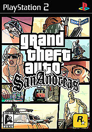 Grand Theft Auto: San Andreas Sony PlayStation 2, 2004) Tested Manual
