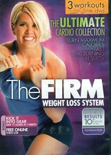 Cardio and Toning DVD - THE FIRM The Ultimate Cardio Collection - 3 Workouts!