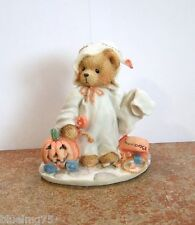 Enesco Cherished Teddies Stacie #617148 You Lift My Spirit Halloween Ghost CTU1