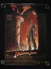 Indiana Jones and the Temple of Doom (1984) original movie poster style A rolled