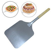 58cm Aluminum Pizza Peel Shovel with Wooden Handle Paddle Pancake Oven Baking
