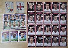 Panini UEFA Euro 2012 Poland/Ukraine Complete Team England + 2 Foil Badges