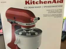 KitchenAid Ice Cream Maker Brand New (5KICA0WH)