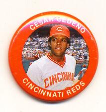 Vintage Cesar Cedeno - Cincinnati Reds Baseball Sporting Badge or Pin ( #42 )
