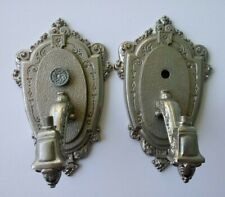 Pair Of Riddle Co Antique Wall Sconce Light Fixtures