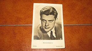 Carte Postale Richard Greene Fp Nvg Avec Date 1940 Ross Verlag