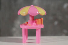 Vintage Polly Pocket furniture Pink Table Pop Up Party Clubhouse Replacement 95