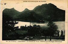 CPA   Lac d'Annecy -Talloires - La Descente du Toron -Duingt et la ... (439354)