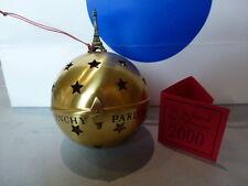 CHRISTMAS ORNAMENT BOULE DE NOEL DU COUTURIER DESIGNER PARFUMEUR Paris Eiffel
