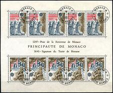 Monaco 1982 SG#MS1567 Europa Cto Used M/S #D40649