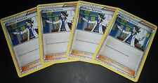 4x Professor Sycamore 107/122 XY BreakPoint Trainer MINT Pokemon Cards