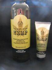 The Body Shop Hemp hydrating & protecting oil 250 ML & hand cream 30 ML