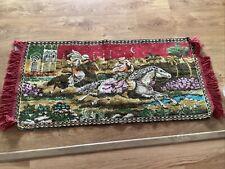 Vintage Prayer Mat Rug Arabian Nights