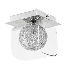 lux.pro plafonnier boule de fil d'aluminium Moderne Lampe de plafond effet G9