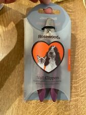 Rosewood Soft Protection Salon Grooming Nail Clipper Small