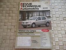 REVUE TECHNIQUE RENAULT CLIO CAMPUS ESSENCE ET DIESEL Depuis 06/2006
