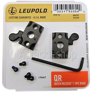 Leupold Quick Release QR 2 Piece Scope Mount Bases - Choose Rifle Model