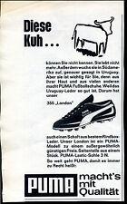 Puma- London -- Diese Kuh --Werbung von 1966-