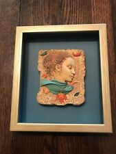 Ebony Visions Autumntime Bas-Relief Plaque